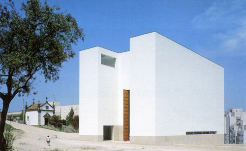 Church, Portugal, by Alvaro Siza - Exterior