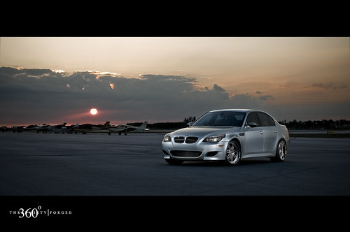BMW M5 on 360 Forged Split 7