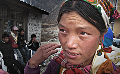 Wedding day (Lāngtāng, , Nepal) Photo
