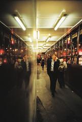 Lomo 05▸08 (ukaaa) Tags: london film night analog 35mm dark lights lomo lca lomography kodak tunnel business negative pointandshoot analogue 135 portra liverpoolstreet stmaryaxe portra160vc bishopgate passway