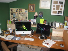 My Desk, Spring 2009