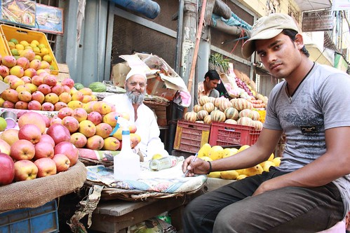 The Fruit seller of Daryaganj