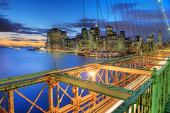 Lower Manhattan Blue (Tony Shi Photos) Tags: nyc sunset citylights brooklynbridge metropolis hdr lowermanhattan cityskyline newyorkcityskyline 纽约 紐約 downtownmanhattanskyline nikond700 ньюйорк ニューヨークシティ 뉴욕시 thànhphốnewyork न्यूयॉर्कशहर tonyshi مدينةنيويورك colorlightperspective นิวยอร์กซิตี้