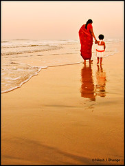 A walk with Mom.. (bnilesh) Tags: india women maharashtra soe supershot 50millionmissing goldenheartaward