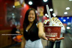 Jackie's Ice Cream (Paolo Constantino Photography) Tags: canon icecream coldstone 24f14l 5dmarkii