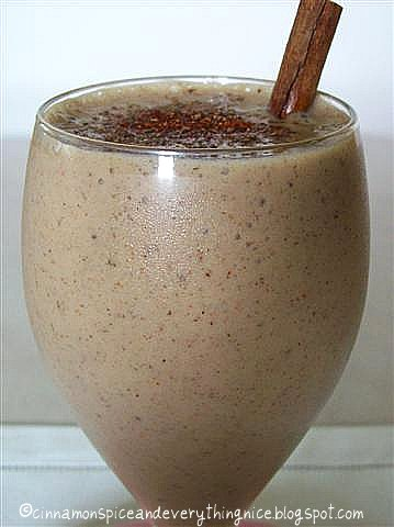 Spiced Banana Date Smoothie