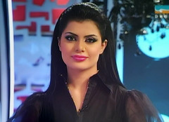 Gorgoues Iraqi Tv Presenter Alia Al Shammari Bc37 Tags Woman Sexy Beautiful
