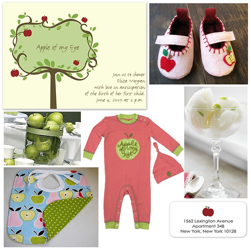 """Apple of My Eye"" Baby Shower"