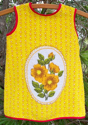 Sunny Pinafore Front by you.