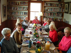 Volunteer breakfast 2009 006