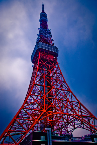 フリー画像| 人工風景| 建造物/建築物| 東京タワー| 塔/タワー| 日本風景| 東京|     フリー素材|