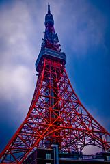 [フリー画像] [人工風景] [建造物/建築物] [東京タワー] [塔/タワー] [日本風景] [東京]     [フリー素材]