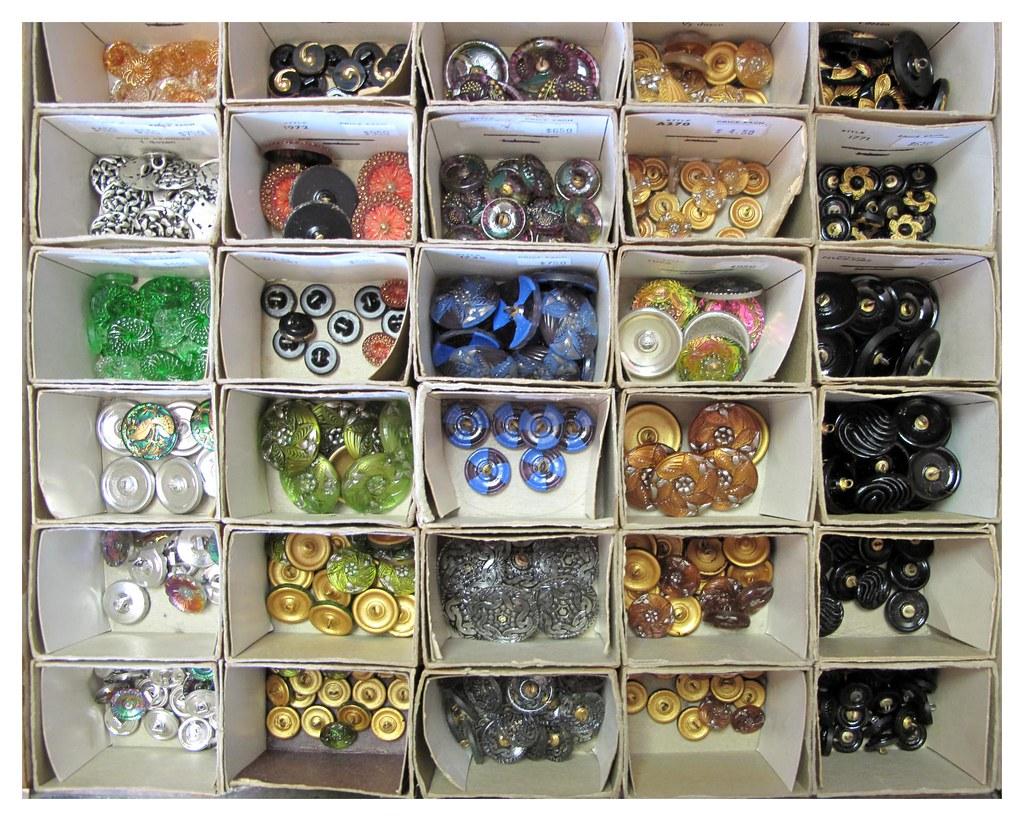 Czech Crystal Buttons