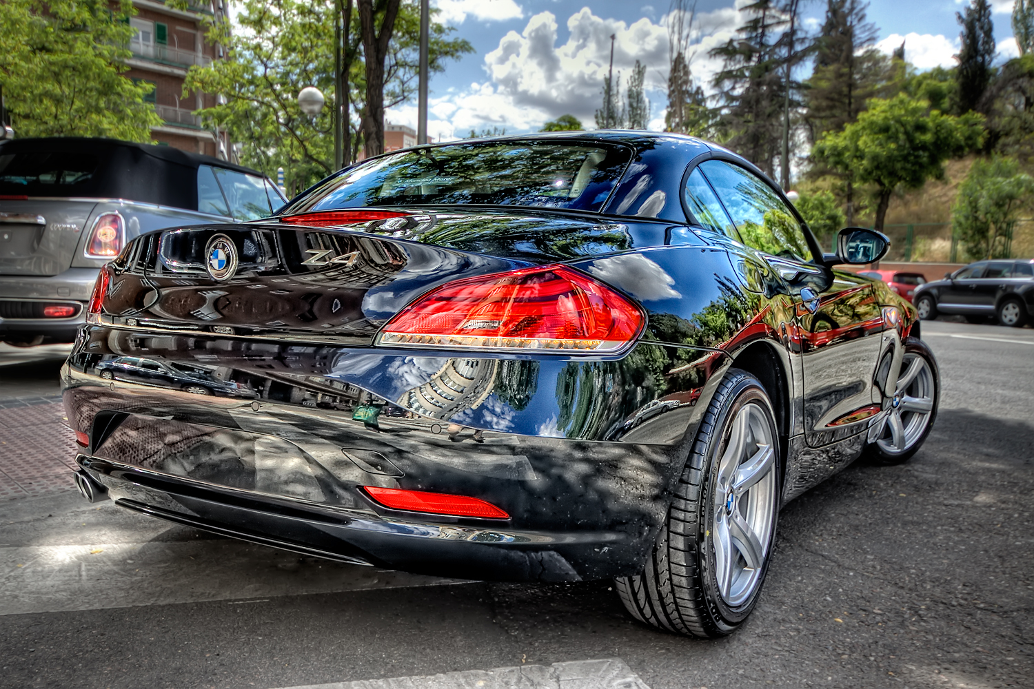 HDR from 3 bracketed exposures