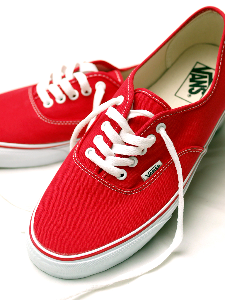 Vans / Authentic [Red]