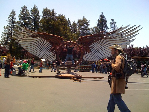Maker Faire 2009: Wings!