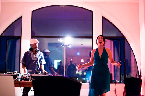 The Diva & The DJ (Michelle Jasso & dj fflood) Debut Performance @ Golden Bridge Lofts in Oakland