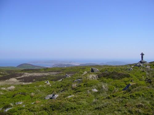 View from Tal y Fan to Llandudno