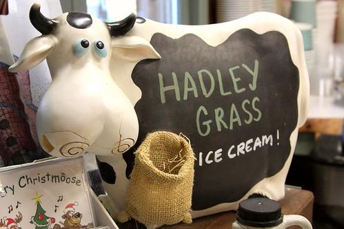 Hadley Grass Cow