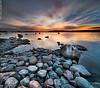 Marked by the bird (Rob Orthen) Tags: sunset sea sky rock suomi finland landscape nikon rocks europe dusk scenic rob tokina 09 scandinavia meri maisema vesi kesä verticalpanorama pinta d300 gnd 1116 nohdr orthen leefilters vertorama roborthenphotography tokina1116 tokina1116mm28 seafinland