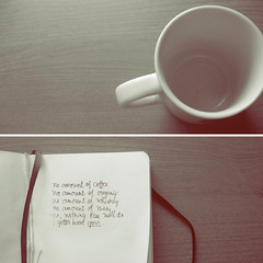 Nothing else will do, I gotta have you (xdesx) Tags: love moleskine notebook journal eek theweepies lyrical
