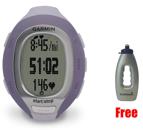 Garmin FR60 Womens Lilac Sports Watch (Heart Rate)