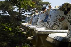 Gargoyles in Guell