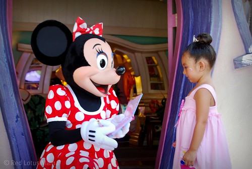 Meeting Minnie