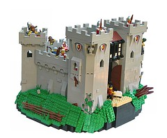 Cair Acwellen (SlyOwl) Tags: castle lego