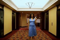 Room Entry (tgirl-katie) Tags: travel asian tv dress montreal cd chinese formal tgirl transgender tranny transexual transgendered crossdresser ts tg transsexual ladyboy bluedress  m2f trangendered    newhalf