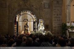 Jesús y la Virgen durante la Misa de Consagración (Juan de la Cruz Moreno Balboa) Tags: úbeda iglesiadestamaría
