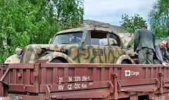 Tatra 57b Kfz.2 (The Adventurous Eye) Tags: world 2 two war wwii ww2 reenactment reenactors 57 tatra kübelwagen kfz 57b miltaryvehicles kfz2