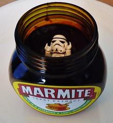 Marmite strikes back (BLTP Photo) Tags: uk denmark starwars lego stormtrooper ban marmite minifigure marmitewars