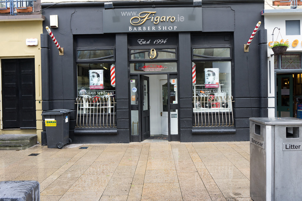 Figaro Barber Shop On Bedford Row In Limerick