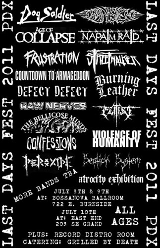 Last Days Fest 2011