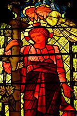 MAY_1125 (15) (Roy Curtis, Cornwall) Tags: uk england church cornwall stainedglass williammorris burnejones stgermans