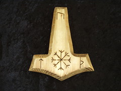Asatru Thors Hammer (dragonoak) Tags: tools ritual altars pagan wiccan dragonoak