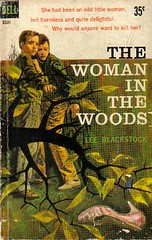 The Woman in the Woods by Lee Blackstock (The Woman in the Woods) Tags: mystery book paperback crime dell jameshill charityblackstock leeblackstock