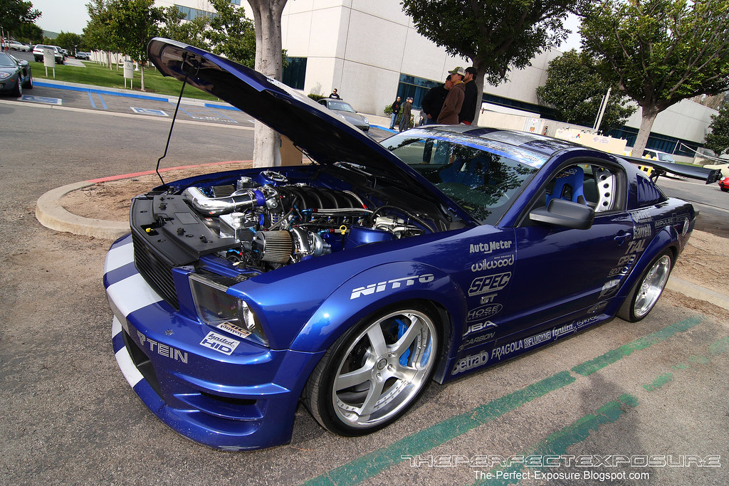 Impulse Engineering Ford Mustang GT with Twin Garrett GT30-71R
