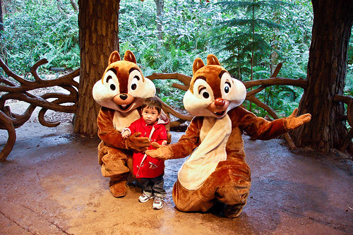 With Chip and Dale