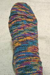 Ridged sock