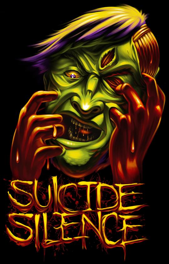Suicide Silence Tee Design
