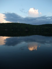 Haliburton Blues 2 (lalique7) Tags: blue sunset summer lake haliburton haphazartblue