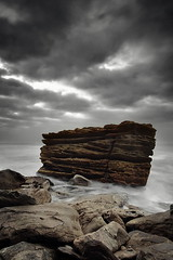 The SS Barrenjoey (Tim Donnelly (TimboDon)) Tags: ocean sea rocks nsw barrenjoey cokin