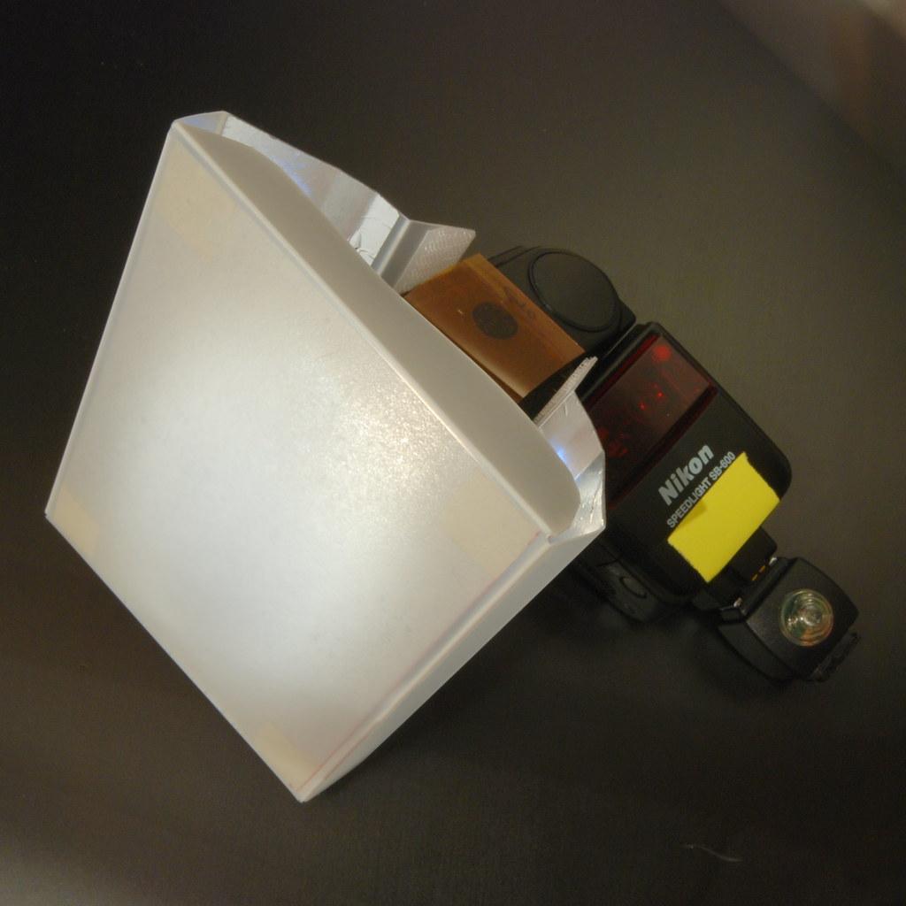DIY mini softbox (6/6)
