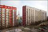 residential blocks - Bialystok Poland (Maciej Dakowicz) Tags: street city church architecture europe view poland polska socialist block residential socialism bialystok podlaskie