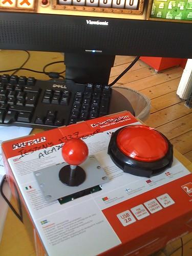 My 1337 arcade controller