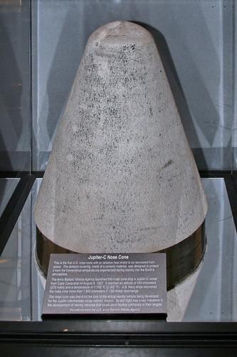 Jupiter C Missile Nose Cone