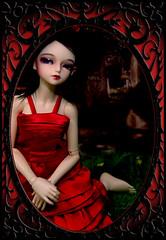 Lurking at the Graveyard (Sweetly-Twisted) Tags: vampire twin elf minife woosoo