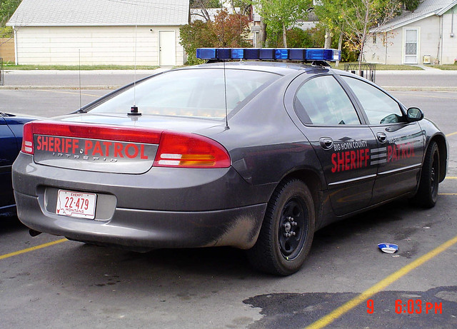 montana dodgeintrepid bighorncountysheriff